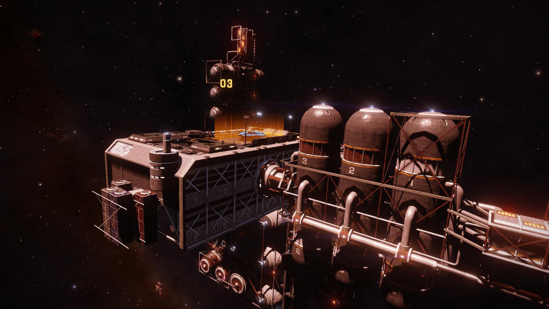 Docked at Hutton Orbital