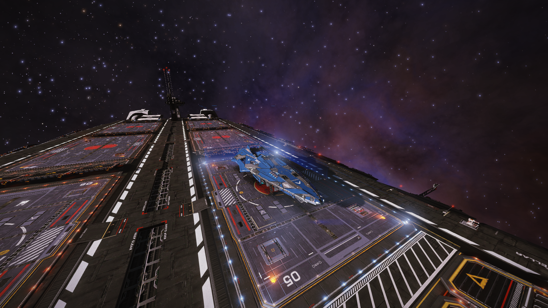 Docked and ready for departure from Colonia aboard ISTS Interstellar